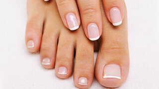 Schöne und gepflegte Fußnägel