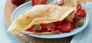 Erdbeer-Crepes