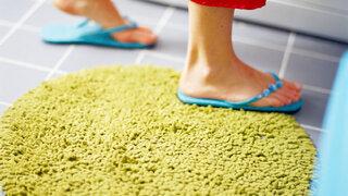 Füße in Flip Flops