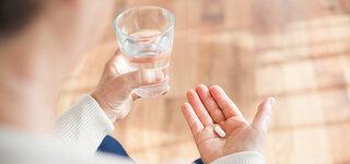 Einnahme von Tabletten