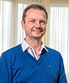 Jochen Auer ist Psychologe und leitender Kreativtherapeut in der Parkklinik Heiligenfeld