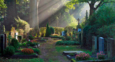 Auch über Art und Ort der Bestattung machen sich die meisten Menschen Gedanken