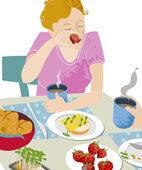 Laut Studien beeinflussen Farbe und Größe des Geschirrs, welche Portionen wir essen