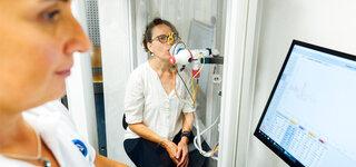 Lungenfunktionstest
