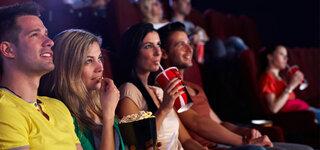 Zuschauer im Kino