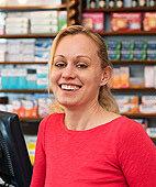 Silke Hellberg leitet eine Apotheke im niedersächsischen Dornum