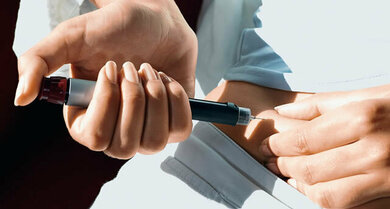 Insulin mit dem Pen spritzen: praktisch, unauffällig