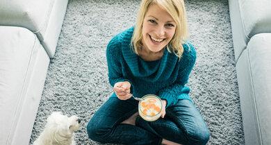 Joghurt ist eine Quelle von natürlichen Probiotika