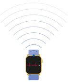 Mit der neuesten Generation digitaler Uhren lässt sich ein einfaches EKG erfassen
