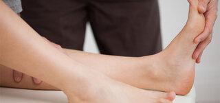 Physiotherapie bei Fußheberlähmung