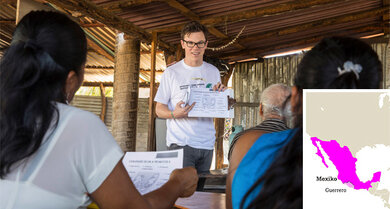 Justus Schollmeier berichtet aus Mexiko, Nordamerika