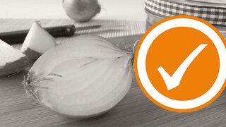 Zwiebel-Honig-Sirup als Hausmittel bei Husten