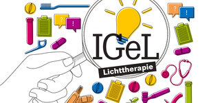 Illustration: IGeL Lichttherapie