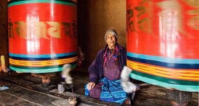 Auf dem Pfad der Erleuchtung: Buddhisten im Kloster Kyichu Lhakhang, Buthan