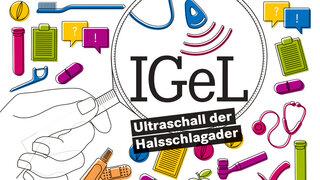 IGeL Ultraschall der Halsschlagader