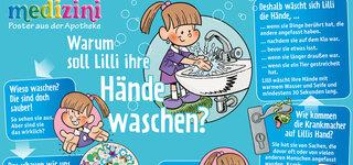 Poster: Warum soll Lilli ihre Hände waschen