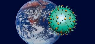 Grippe-Virus Weltweit