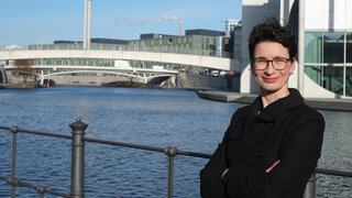Korrespondentin Tina Haase Marie-Elisabeth-Lüders-Haus Berlin