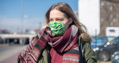 Not macht erfinderisch: Ein selbstgenähter Mund-Nasen-Schutz