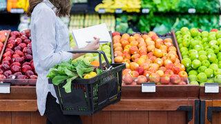 Markt Frisches Obst und Gemüse