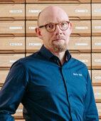 Martin Wolff, Inhaber einer Apotheke in Altenweddingen, trainiert mit Sportlern aller Altersgruppen