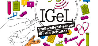 Illustration: IGEL Stoßwellentherapie