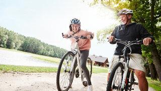Bewegung Radfahren Senioren Grüner Star Vorbeugen