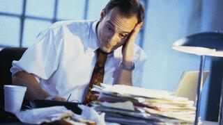 Streß im Büro
