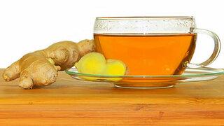 Ingwer Trauben Tee