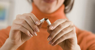 Auch nach dem Rauchstopp gilt es für die Gesundheit einiges zu beachten