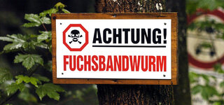 Achtung Schild