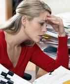 Stress kann ein Auslöser für Migräne sein