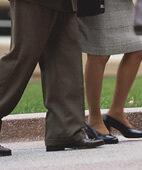 Ungedämpftes Schuhwerk kann zu einer ungünstigen Druckverteilung am Fuß führen