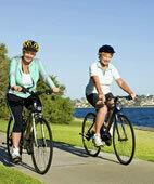 Radfahren hält fit und gesund