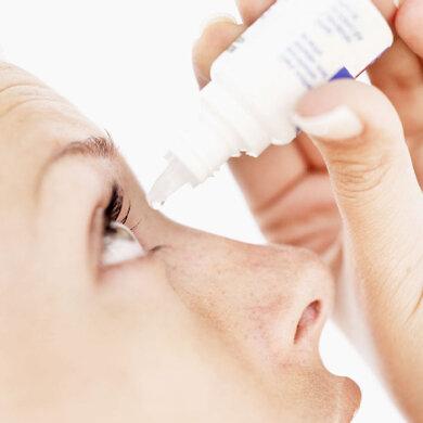 Künstliche Tränen können bei trockenen Augen helfen