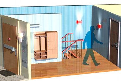 """Treppe mit Geländer, keine Teppiche: Beispiele für """"Barrierefreiheit"""""""