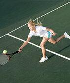 Schnelle Stopps können zu Muskelzerrungen oder Rissen führen