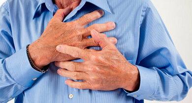 Brustschmerzen: Dahinter kann auch mal ein hoher Blutdruck stecken