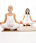 Yoga kann helfen, sich zu entspannen