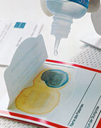 Ein Test auf Blut im Stuhl gehört zu den Früherkennungsmaßnahmen