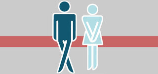 Inkontinenz (Symbolbild)