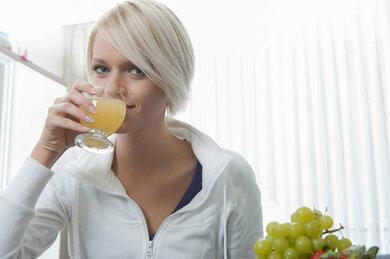 Auch Orangensaft enthält Folsäure