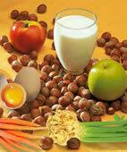 Nahrungsmittelallergie? Apfel, Ei, Nuss & Co. sind da häufiger im Spiel