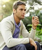 Tabakrauch kann die Nase reizen