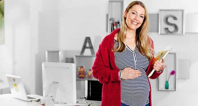 Keine Seltenheit: Eine verstopfte Nase in der Spätschwangerschaft