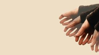 Zitternde Hand