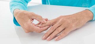 Übungen bei Fingerarthrose