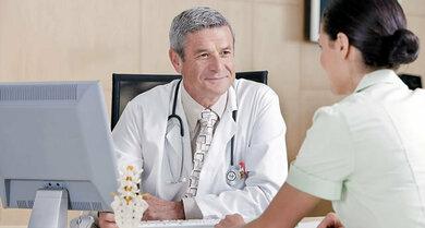Mit einem guten Arztgespräch ist schon einiges für die Diagnose gewonnen