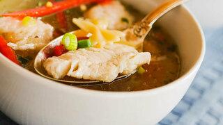 Fischtopf mit Fenchel und Paprika