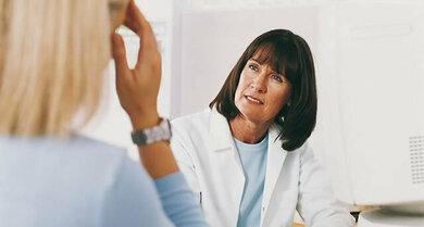 Ein ausführliches Arzt-Patient-Gespräch steht am Anfang der Diagnosefindung